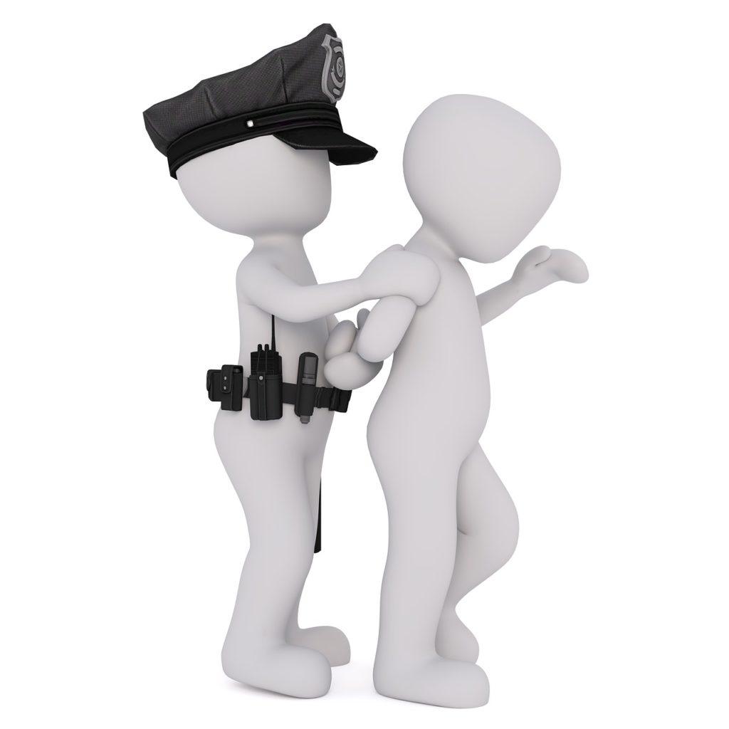 怪盗と警察